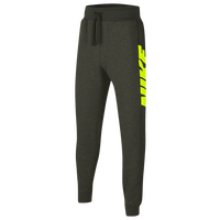 Nike Kids Pack Fleece Pants - Boys' Grade School - Olive Green