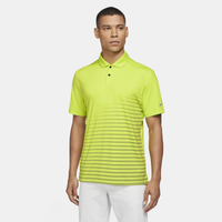 Nike Dry Vapor Stripe Golf Polo - Men's - Yellow
