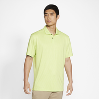 Nike Dry Vapor Micro Stripe Golf Polo - Men's - Yellow