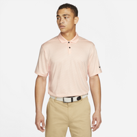Nike Dry Vapor Micro Stripe Golf Polo - Men's - Pink