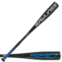 Rawlings 5150 USA Youth Bat - Youth - Black