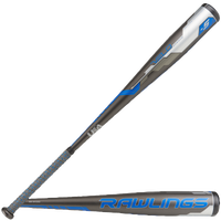 Rawlings Velo USA Baseball Bat - Grade School - Grey / Blue