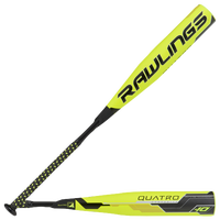 Rawlings Quatro Baseball Bat - Grade School - Yellow / Black