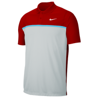 Nike Dry Victory Colorblock Golf Polo - Men's - Red