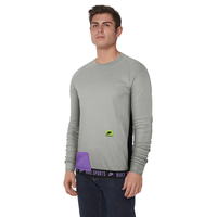 Nike Therma Fleece PX Pullover Crew - Men's - Grey / Purple
