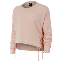 Nike Essential Tie Fleece Crew - Women's - Pink