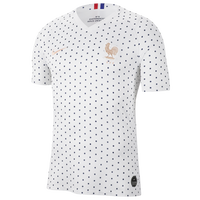 Nike France Breathe Stadium Jersey - Men's - France - White