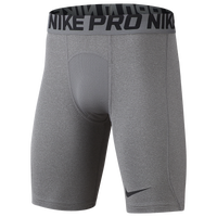 Nike PRO COOL Shorts - Boys' Grade School - Grey