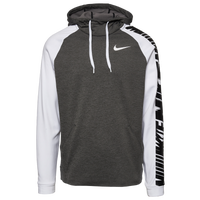 Nike Therma Fleece Sleeve Graphic Hoodie - Men's - Grey