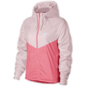 taquigrafía Resignación ajuste  Nike Windrunner Jacket - Women's - Casual - Clothing - Pink Foam/Hyper Pink/ White
