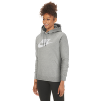 Nike Essential Pullover Fleece Hoodie - Women's - Grey