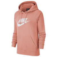 Nike Essential Pullover Fleece Hoodie - Women's - Pink
