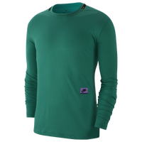 Nike Dry PX Longsleeve Top - Men's - Green / Purple