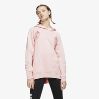 Nike Essential Tie Fleece Hoodie - Women's - Pink