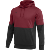 Nike Team Authentic Therma Hoodie - Men's - Black / Maroon