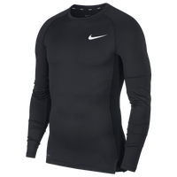 Nike Pro Compression Long Sleeve Top - Men's - Black