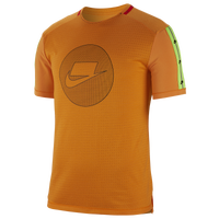 Nike Wild Run S/S Tee - Men's - Orange