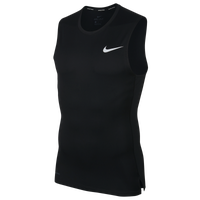 Nike Pro Compression Sleeveless Top - Men's - Black