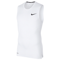 Nike Pro Compression Sleeveless Top - Men's - White