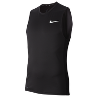 Nike Pro Fitted Sleeveless Top - Men's - Black