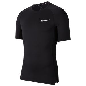 Nike Pro Compression Top - Men's - Black/White