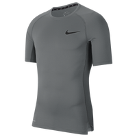 Nike Pro Compression Football T-Shirt - Men's - Grey