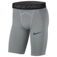 "Nike Pro 6"" Shorts - Men's - Grey"