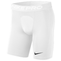 "Nike Pro 6"" Shorts - Men's - White"