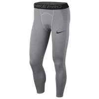 Nike Pro 3/4 Compression Tights - Men's - Grey
