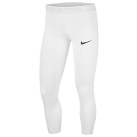 Nike Pro 3/4 Compression Tights - Men's - White