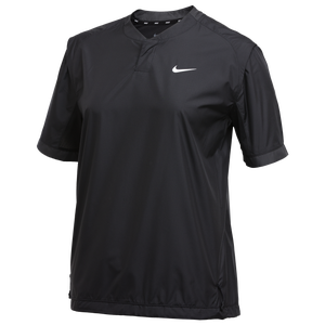 Nike Team S/S Windshirt - Women's - Black/Anthracite/White