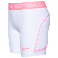 Nike Dri-FIT Softball Slider - Girls' Grade School - White