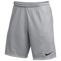 Nike Team Dry Park III Shorts - Men's - Grey