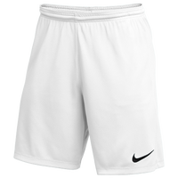 Nike Team Dry Park III Shorts - Men's - White