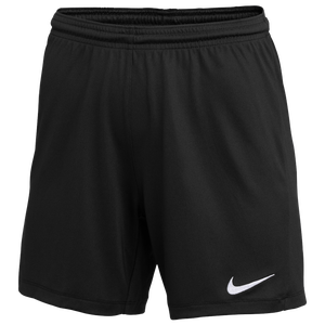 Nike Team Dry Park III Shorts - Women's - Black/White