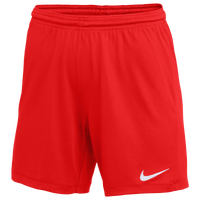 Nike Team Dry Park III Shorts - Women's - Red