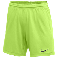 Nike Team Dry Park III Shorts - Women's - Light Green