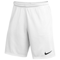Nike Team Dry Park III Shorts - Boys' Grade School - White