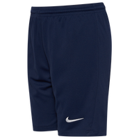Nike Team Dry Park III Shorts - Boys' Grade School - Navy