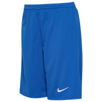 Nike Team Dry Park III Shorts - Boys' Grade School - Blue