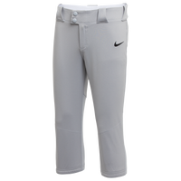 Nike Team Vapor Select Pants - Girls' Grade School - Grey