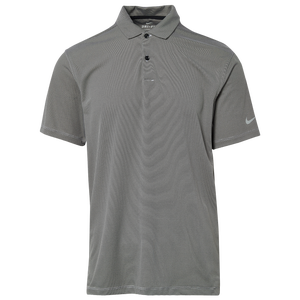 Nike Dry Victory Texture Golf Polo - Men's - Black/Pure/Silver