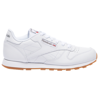 740f4380e76cc Reebok Classic Leather - Boys  Grade School - White   Tan