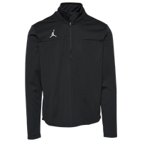 Jordan Team 1/2 Zip Coaches Top - Men's - Black