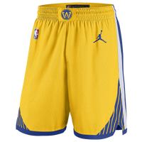 Jordan NBA Statement Swingman Shorts - Men's - Golden State Warriors - Yellow