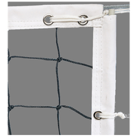 Trigon Team Pro Volleyball Net - White / Black
