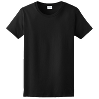 Gildan Team Ultra Cotton 6oz. T-Shirt - Women's - All Black / Black