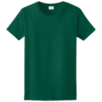 Gildan Team Ultra Cotton 6oz. T-Shirt - Women's - Dark Green / Dark Green