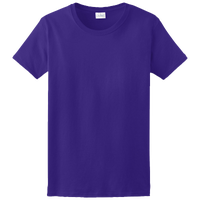 Gildan Team Ultra Cotton 6oz. T-Shirt - Women's - Purple / Purple
