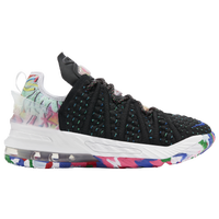 Nike LeBron 18 - Boys' Grade School -  Lebron James - Black / Multicolor